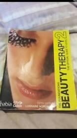 Beauty and sports massage study books