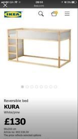 Ikea kura mid sleeper bed
