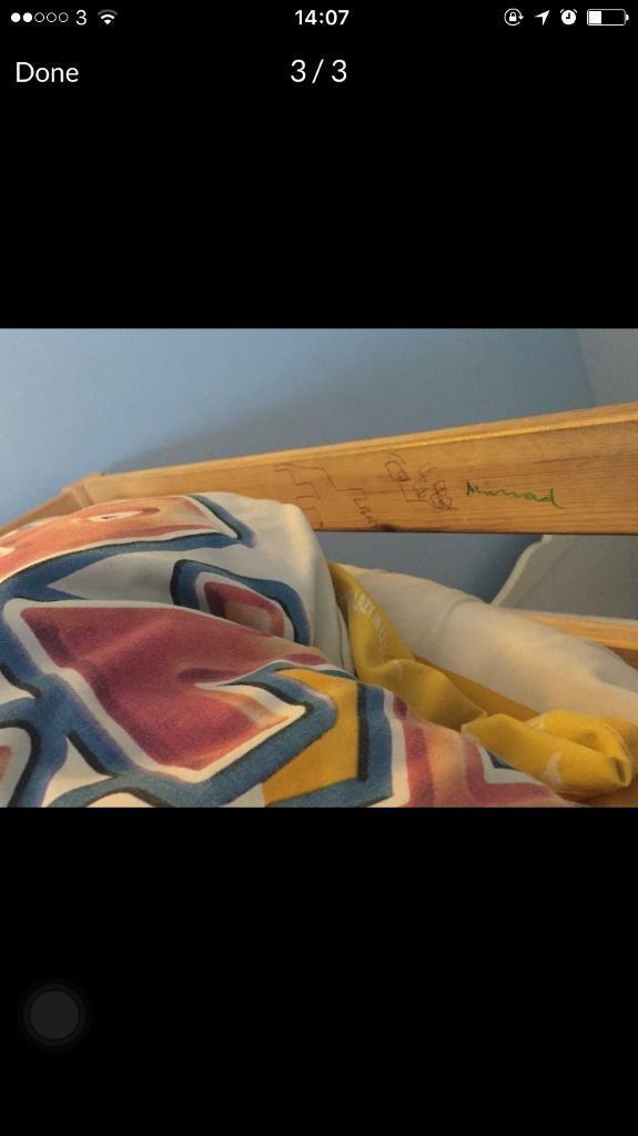 Bunk bed 50in Hayes, LondonGumtree - Bunk bed with mattress £50 onlyCollect from ub49eu used for year and My sun he doesnt wont any more