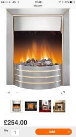 Dimplex Siva electric fire brand new