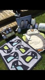 Penguin Nursery Set