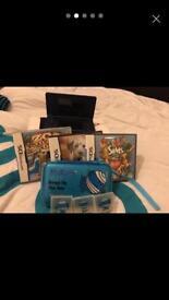 DSi 3 games/case/pens/game cases
