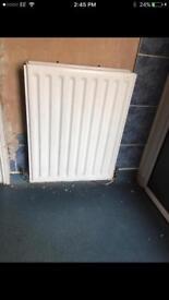 White Radiator heater