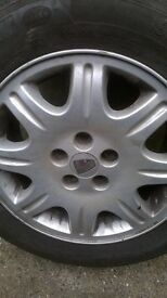 rover alloy wheel with Michelin tyre