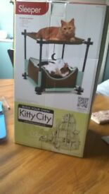 Kitty City Cozy Bed - bunkbed for cats!!