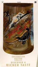 San Miguel pint glass