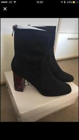 2 pairs of ladies Boots Size 7