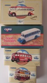 JOB LOT CORGI BUS SOME ARE SPECIAL ADDITION AND NUMBERD