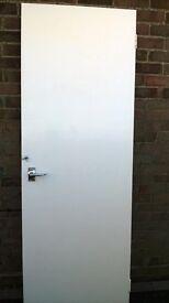 5 Plain White Internal Doors
