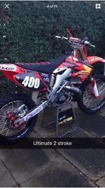 Honda cr 250 2006 look