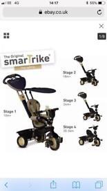 Smart Trike - black & gold dream 4 in 1 touch