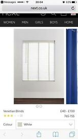 Next venetian blind - open to offers