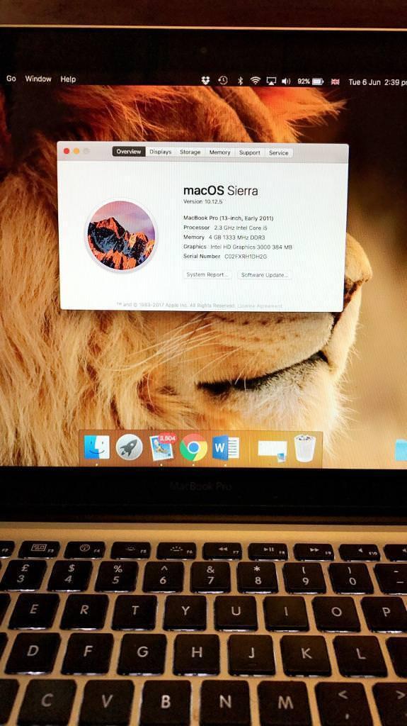 "MacBook Pro 13"" i5 early 2011"