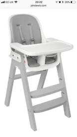 Oxo Tot Sprout High Chair - Grey - Brand New