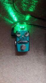 Hotone tremolo guitar effects pedal, mini modulation pedal