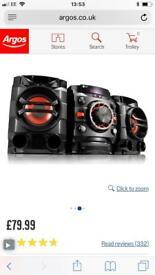 LG Hi-fi system