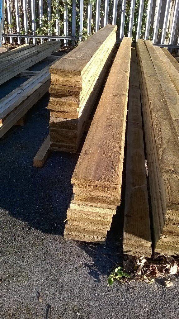 6x1 New Sawn Pressure Treated Timber
