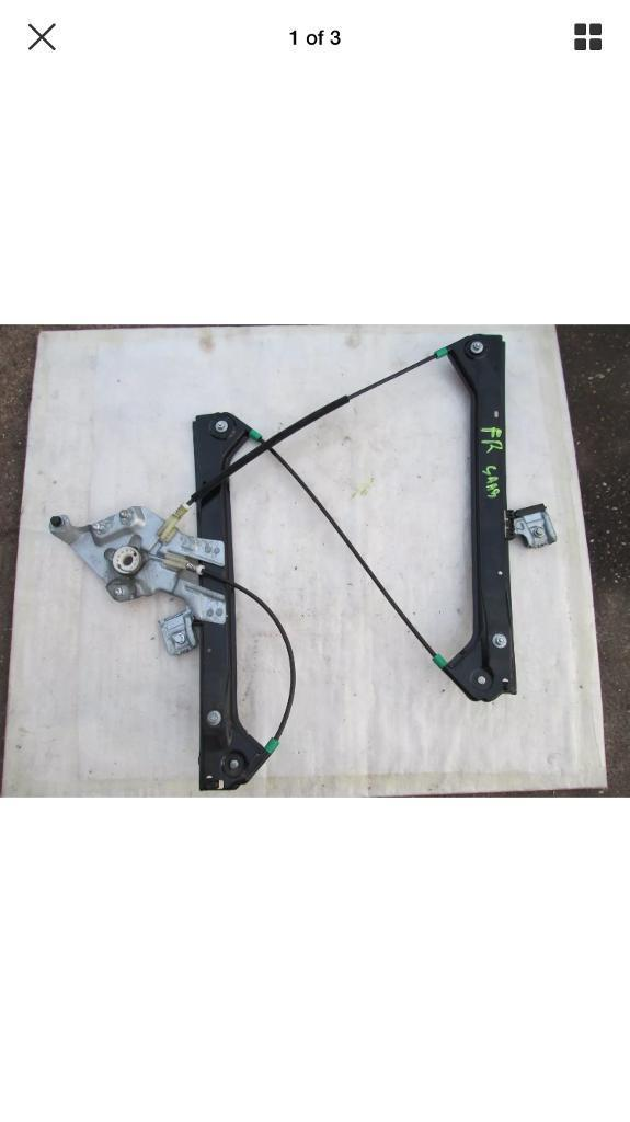 Saab 93 window regulator with motor