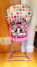 Baby girl High chair
