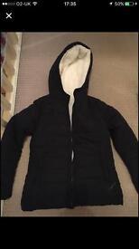 Winter coat size 10