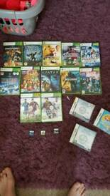 Xbox 360 games and ds games
