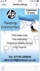 Painter & decorating