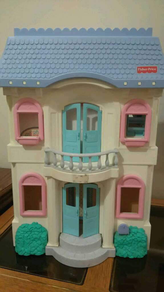 Vintage Fisher Price Large Dolls House