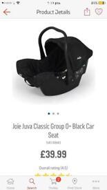 Joie juva car seat