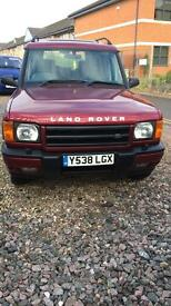 2001 Land Rover discovery TD5, GS very clean example.