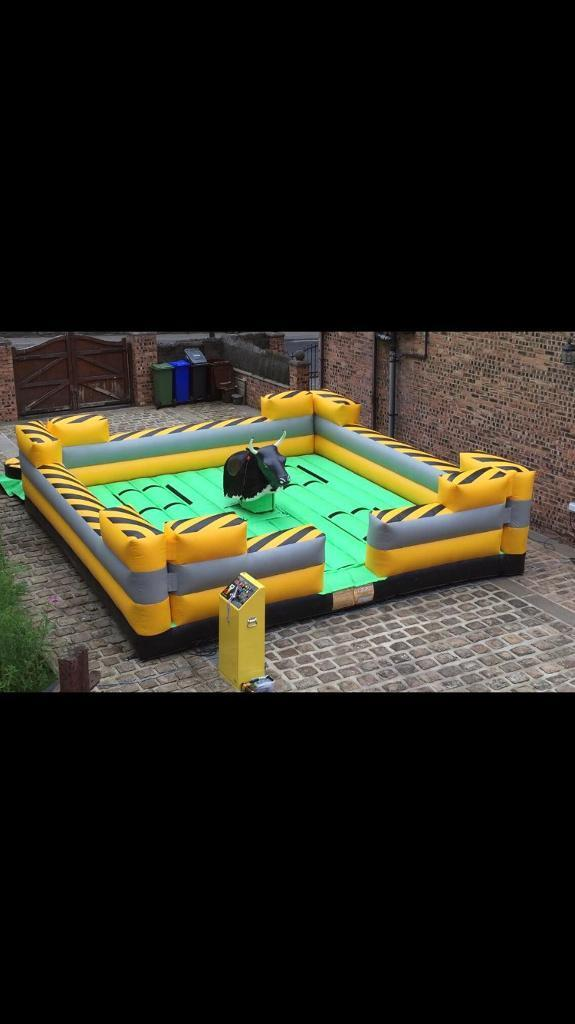 Rodeo bull and total wipeout