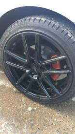 "18"" alloys gold"