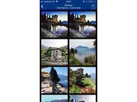 2 nights in Villa Marina, Bellano (Lake Como, Italy)