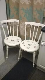 Upcycled Retro Chairs.