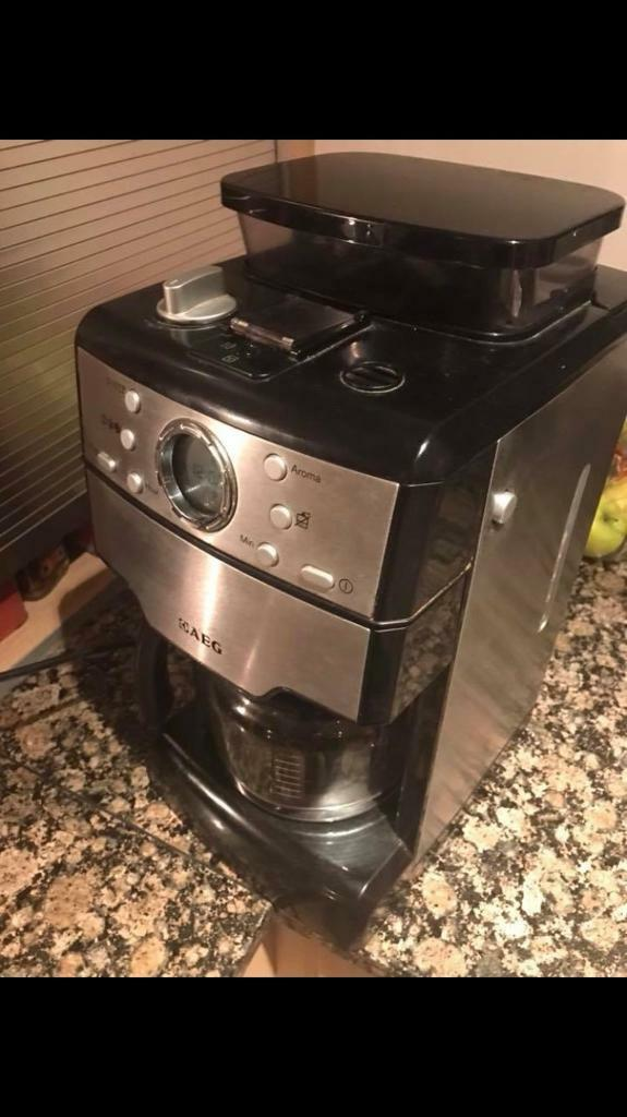 Aeg Kam300 Filter Coffee Maker With Integrated Mill In Chertsey Surrey Gumtree