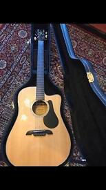 Alvarez RD8C Acoustic Guitar & Hard case