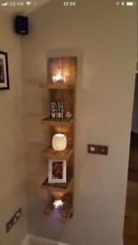 Bespoke floating shelf