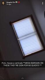 Vertical blinds full house