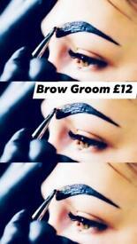 Brow grooming