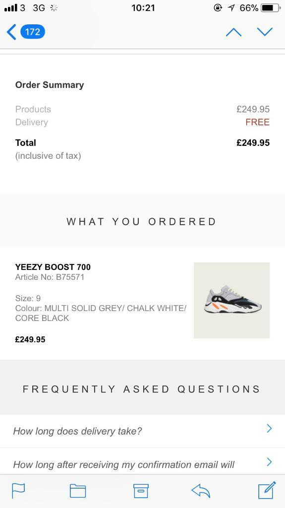 most popular on sale various colors Adidas yeezy 700 UK size 9 new with box | in Kilburn, London | Gumtree