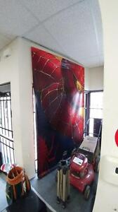 Spider Man 2 Vinyl Movie Poster 5 Feet long & 8 Feet Tall