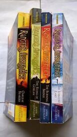 John Flanagan Ranger's Apprentice Series Collection Books 1 to 4 Oakleaf Bearers