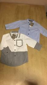 Next 9-12 boys shirt tops