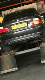 Bmw e46 carbon rear valance