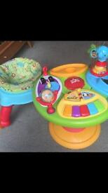 Bright starts 3 in 1 activity centre