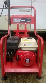 sealey petrol jet washer - 6.5hp engine 2500psi