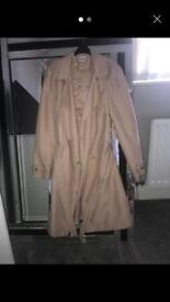 gorgeous mink coloured coat