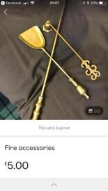 Fire accessories
