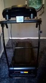 Treadmill (nearly new and motorized)
