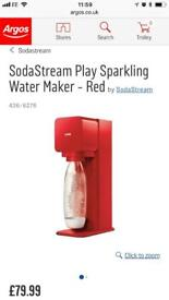 Soda Stream Play - red with 2 bottles