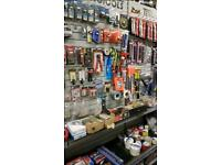 Business opportunity car parts & DIY Shop for rent or all stock including fitting for sale